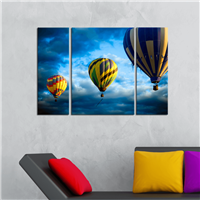 Gökyüzü Ve Balonlar Desen Duvar Panosu