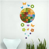 Renkli Dekoratif Saat (DKF-001)